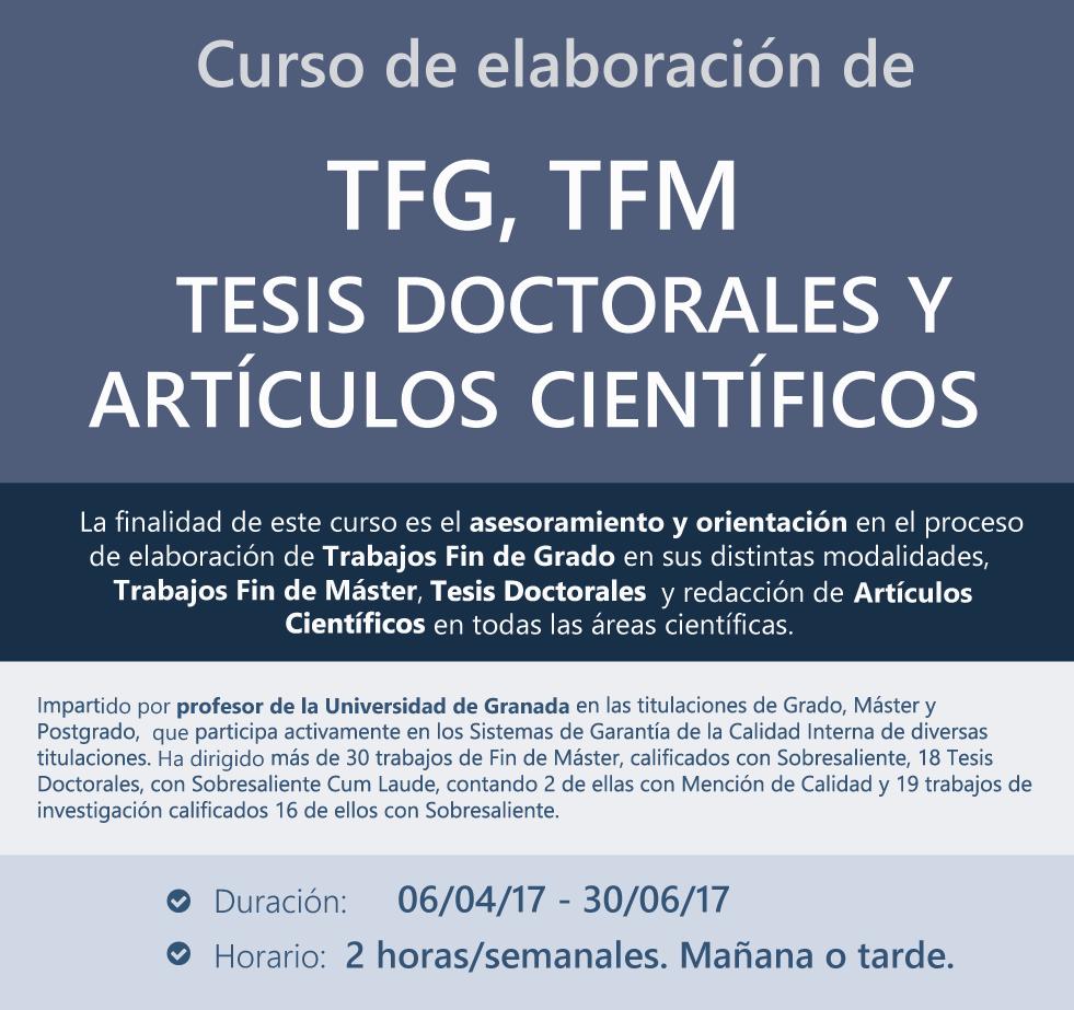 Curso TFG-TFM-Tesis